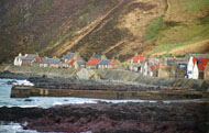The village of Crovie