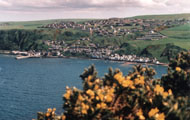 A view of Gardenstown from St John's Kirkyard