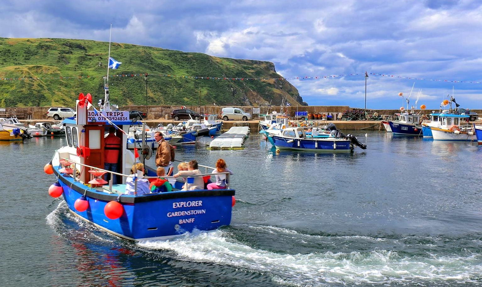 Boat Trips - Donald Martin