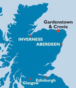Gardenstown Map